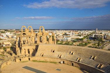 TU02109 Tunisia, El Jem, Roman Amphitheatre