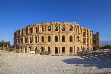 TU02114 Tunisia, El Jem, Roman Amphitheatre