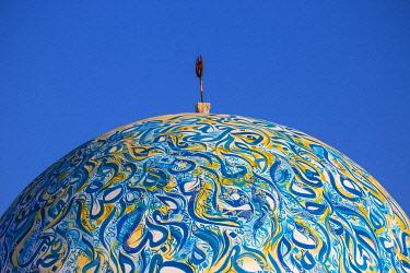 TU02156 Tunisia, Kairouan, Madina, Dome on the terrace roof of a cosmetic shop