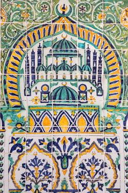 TU02182 Tunisia, Kairouan, Zaouia of Sidi Abid Al Ghariani