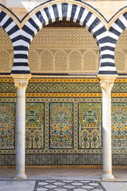 TU02185 Tunisia, Kairouan, Zaouia of Sidi Abid Al Ghariani