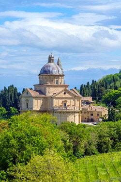 ITA14669AW Chiesa di San Biagio church, Montepulciano, Val d'Orcia, Tuscany, Italy, Europe.