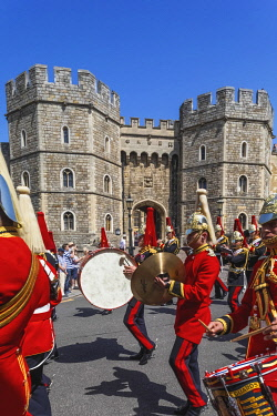 TPX70832 England, Berkshire, Windsor, Windsor Castle, Changing The Guard Ceremony