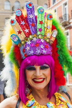 TPX71354 England, London, The Annual Pride Festival, Parade Participant