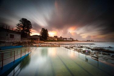 AUS3199AW The Entrance ocean baths. The Entrance, Central Coast, New South Wales, Australia
