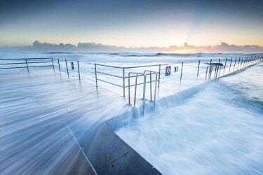 AUS3537AW The Entrance ocean baths. The Entrance, Central Coast, New South Wales, Australia