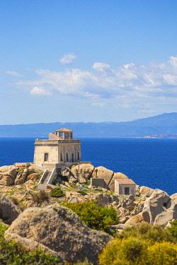 IT12305 Italy, Sardinia, Santa Teresa Gallura, Lighthouse at Capo Testa