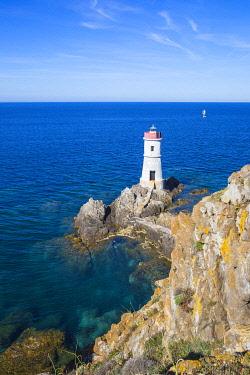 IT12349 Italy, Sardinia, Porto Cervo, Capo Ferro, Capo Ferro Lighthouse