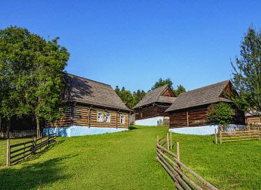 SLV1545AWRF Open Air Museum at Stara Lubovna, Presov Region, Slovakia