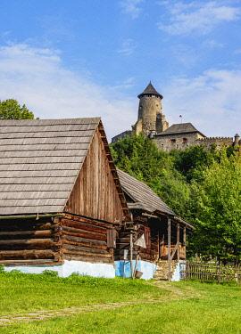 SLV1521AW Open Air Museum at Stara Lubovna, Presov Region, Slovakia