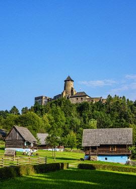 SLV1522AW Open Air Museum at Stara Lubovna, Presov Region, Slovakia