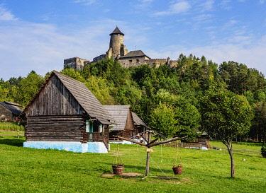 SLV1551AWRF Open Air Museum at Stara Lubovna, Presov Region, Slovakia