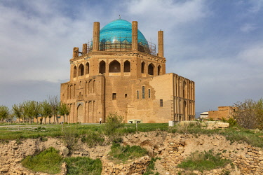 IR030RF Dome of Soltaniyeh, 1313, Soltaniyeh, Abhar County, Zanjan Province, Iran
