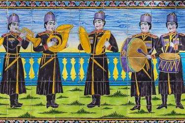 IR01382 Edifice of the Sun, Shams ol Emareh, Golestan Palace, Tehran, Iran