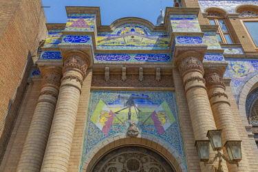 IR01387 Gate of the National Garden, Tehran, Iran
