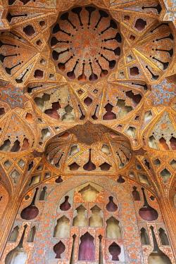 IR01398 Music Hall, Ali Qapu palace, Isfahan, Isfahan Province, Iran