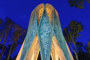 IR01443 Omar Khayyam mausoleum, Nishapur, Khorasan Razavi Province, Iran