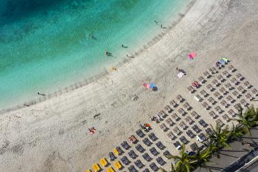 ES09592 Spain, Canary Islands, Gran Canaria, Puerto Rico, Anfi del Mar Beach