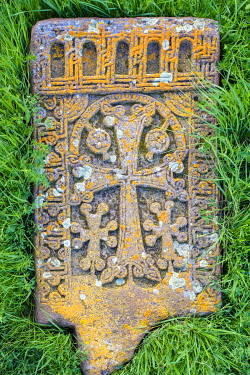 ARM0335AWRF Historic Khachars at Noratus Cemetery, Noraduz (Noratus), Gegharkunik Province, Armenia