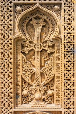ARM0336AWRF Khachars at Geghard Monastery (Geghardavank), Kotayk Province, Armenia.