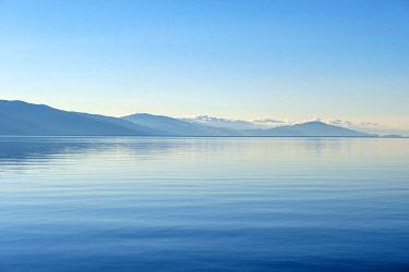 ARM0250AW Lake Sevan at dawn, Sevan, Gegharkunik Province, Armenia
