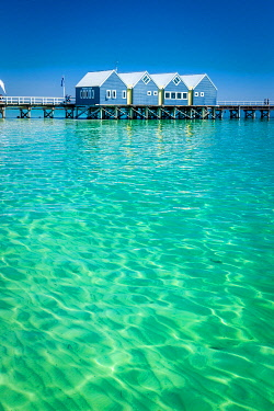 Bussleton Jetty is the world's longest wooden pier at 1841 meters. Bussleton, South West, Western Australia, Australia