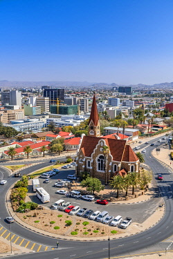 NAM6672AW City skyline, Windhoek, Khomas, Namibia