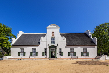 SAF7631AW Groot Constantia wine estate manor house, Constantia, Cape Town, Western Cape, South Africa