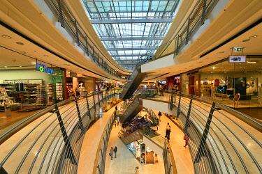 HMS3435817 Germany, Baden Wurttemberg, Stuttgart, Königsbau Passagen Shopping Mall