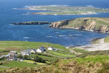 HMS3332997 Ireland, County Galway, Clifden, Connemara, sky road