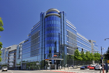 HMS3305663 Luxembourg, Luxembourg city, building housing the headquarters of Arcelor Mittal