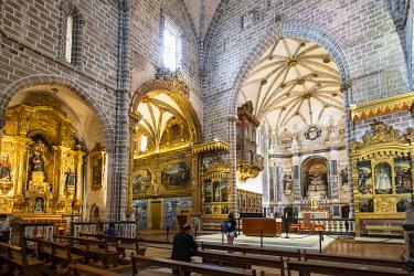 HMS3358463 Portugal, Alentejo region, Evora, UNESCO World Heritage site, Sao Francisco church built in the sixteenth century
