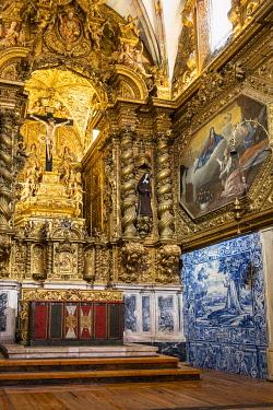 HMS3358465 Portugal, Alentejo region, Evora, UNESCO World Heritage site, Sao Francisco church built in the sixteenth century