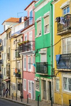 HMS3358580 Portugal, Lisbon, Calçada Santana street