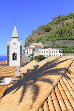HMS3453462 Portugal, Madeira Island, Ponta do Sol, Church of Our Lady of Light (Nossa Senhora da Luz) dating from the 15th century
