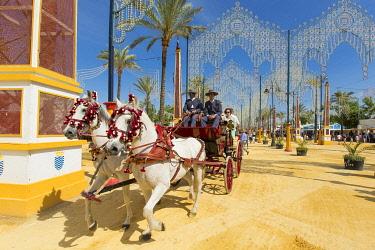 HMS3287182 Spain, Andalucia, Cadiz Province, Jerez de la Frontera, the Feria del Caballo (the horse fair)
