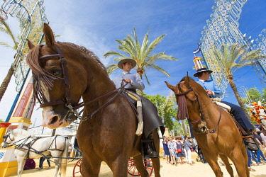 HMS3287184 Spain, Andalucia, Cadiz Province, Jerez de la Frontera, the Feria del Caballo (the horse fair)