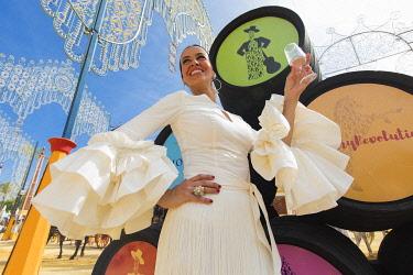 HMS3287185 Spain, Andalucia, Cadiz Province, Jerez de la Frontera, the Feria del Caballo (the horse fair)