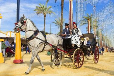 HMS3287190 Spain, Andalucia, Cadiz Province, Jerez de la Frontera, the Feria del Caballo (the horse fair)