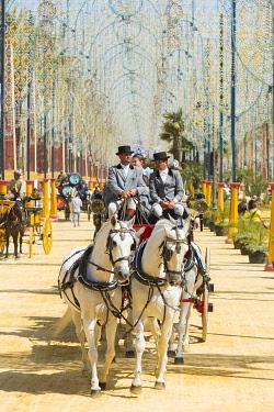 HMS3287195 Spain, Andalucia, Cadiz Province, Jerez de la Frontera, the Feria del Caballo (the horse fair)