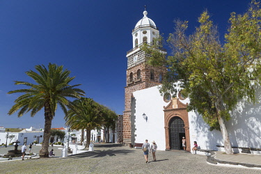 HMS3325112 Spain, Islands of the Canary Islands, Island of Lanzarote, the village of Teguise