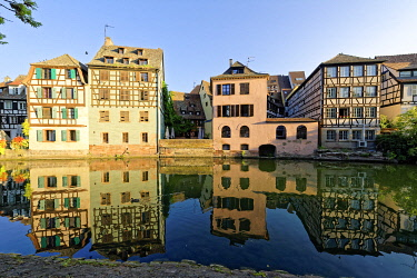 HMS3419027 France, Bas Rhin, Strasbourg, old town listed as World Heritage by UNESCO, the Petite France District