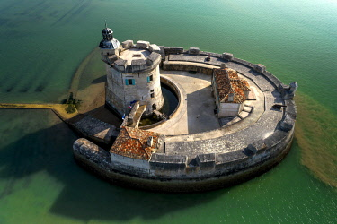 HMS3438983 France, Charente-Maritime, Bourcefranc-le-Chapus, Fort Louvois, the construction of Fort Louvois or fort Chapus was conducted from 1691 to 1694 according to the principles of military architecture red...
