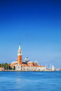 ITA14841 Italy. Veneto. Venice. San Giorgio Maggiore Church on the island of San Giorgio Maggiore.