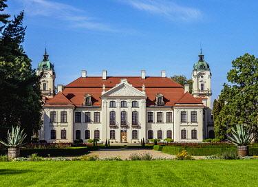 POL2051AWRF Zamoyski Palace in Kozlowka, Lublin Voivodeship, Poland