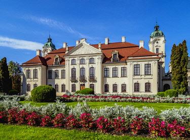 POL2159AW Zamoyski Palace in Kozlowka, Lublin Voivodeship, Poland