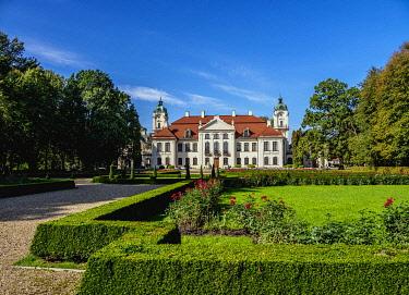 POL2162AW Zamoyski Palace in Kozlowka, Lublin Voivodeship, Poland
