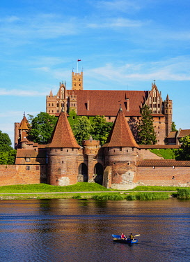 POL2220AW Castle of the Teutonic Order in Malbork, Pomeranian Voivodeship, Poland
