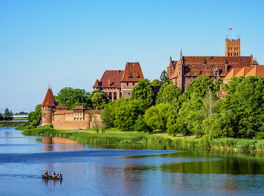 POL2222AW Castle of the Teutonic Order in Malbork, Pomeranian Voivodeship, Poland
