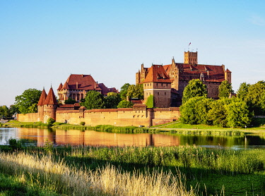 POL2228AW Castle of the Teutonic Order in Malbork, Pomeranian Voivodeship, Poland